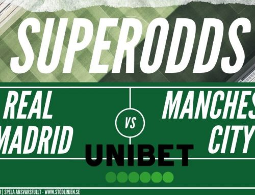 Superodds CL (26/2): Real Madrid vs Manchester City