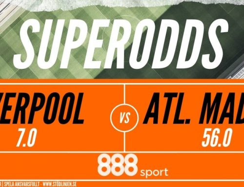 Superodds CL   11/3   Liverpool – Atletico Madrid