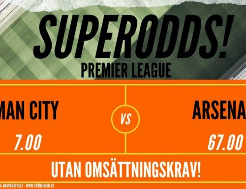 Superodds (17/6) | Premier League: Man City vs Arsenal