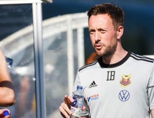 Tränaren Ian Burchnall lämnar Östersund