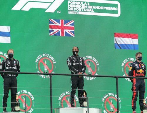 Lewis Hamilton historisk efter segern i Portugals GP