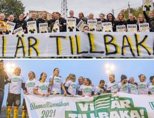 AIK och Hammarby tillbaka i Damallsvenskan