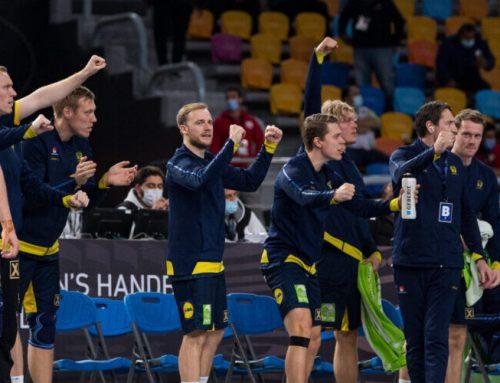 Sverige klara för kvartsfinal i Handbolls-VM