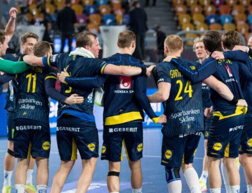 Svenska herrlandslaget i handboll klara för olympiska spelen i Tokyo